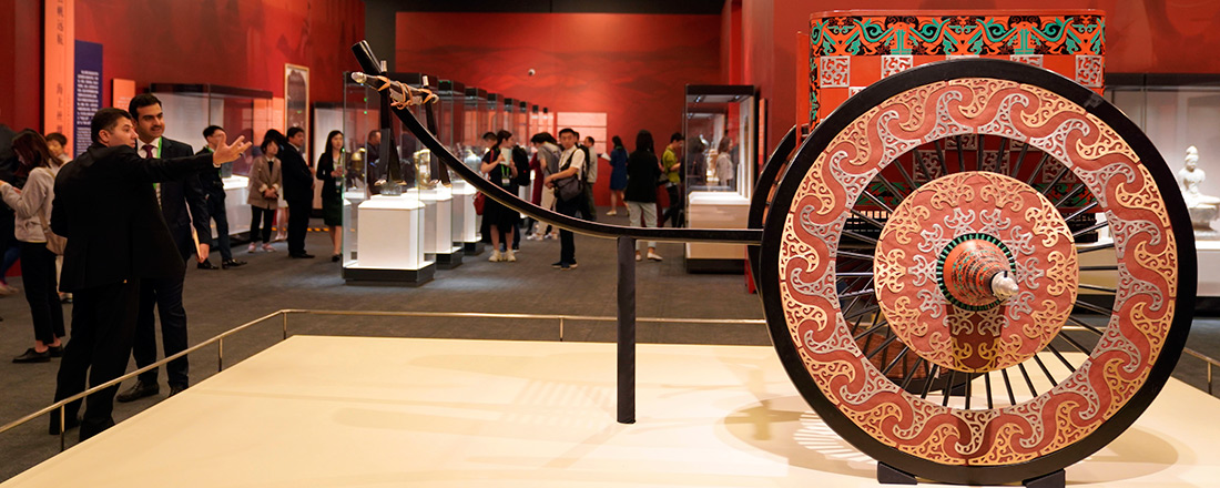 Exhibition kicks off to showcase splendor of Asian civilizations