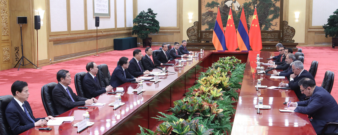 Xi meets Armenian PM